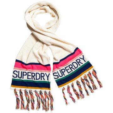 Superdry Tücher & Schals weiß