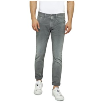 Replay Slim Fit grau