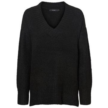 Vero Moda Strickpullover schwarz