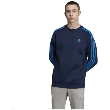 adidas Sweater3-STRIPES CREW - EK0260 blau