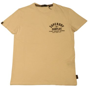 Superdry T-Shirts basic beige