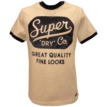 Superdry T-Shirts print weiß