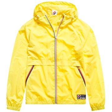 Superdry Leichte Jacken gelb