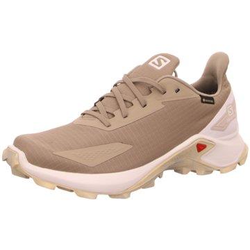 Salomon TrailrunningALPHACROSS BLAST GTX - L41284700 beige