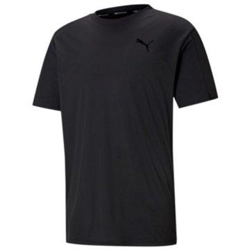 Puma T-Shirts basicTRAIN GRAPHIC SS TEE - 520116 schwarz