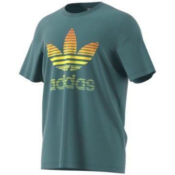 adidas T-Shirts basic grün