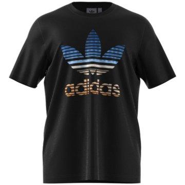 adidas T-Shirts basic schwarz