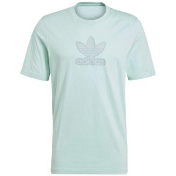 adidas T-Shirts print grün