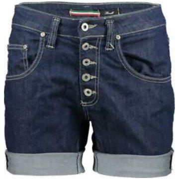 Please Shorts blau