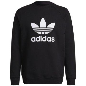 adidas SweatshirtsAdicolor Classics Trefoil Sweater schwarz