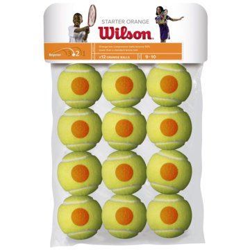 Wilson TennisbälleSTARTER ORANGE TBALL 12 PACK - WRT137200 gelb