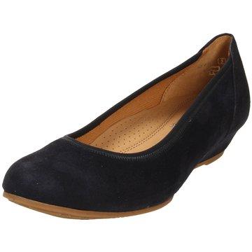 Gabor comfort Klassischer Ballerina blau