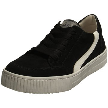 Gabor Sportlicher SchnürschuhSneaker schwarz