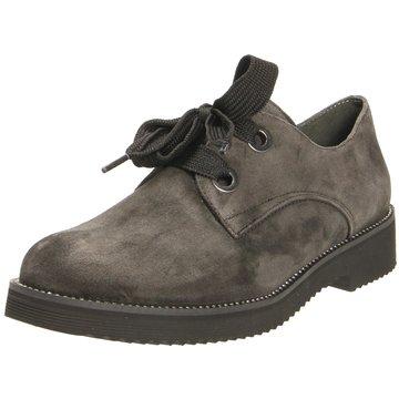 Gabor Klassischer SchnürschuhSneaker grau