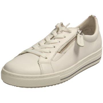 Gabor comfort Sportlicher SchnürschuhSneaker weiß