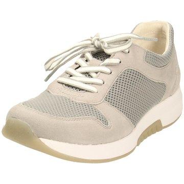 Gabor comfort Komfort Schnürschuh grau