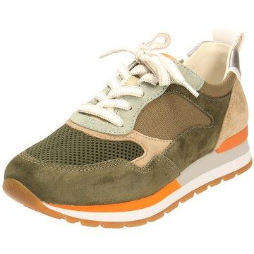 Gabor comfort Sportlicher SchnürschuhSneaker grün