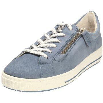 Gabor comfort Sportlicher SchnürschuhSneaker blau