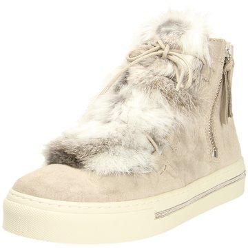 Alpe Woman Shoes Sneaker High beige