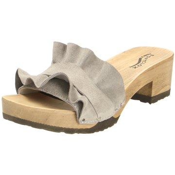 Softclox Plateau Pantolette grau
