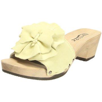 Softclox Plateau Pantolette gelb