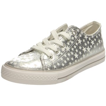 Indigo Sneaker Low silber