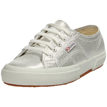 Superga Sneaker Low silber