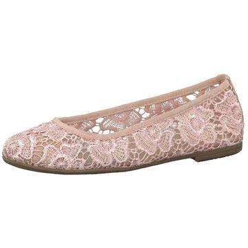 Tamaris Klassischer Ballerina rosa