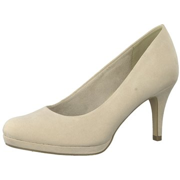 Tamaris Plateau Pumps beige