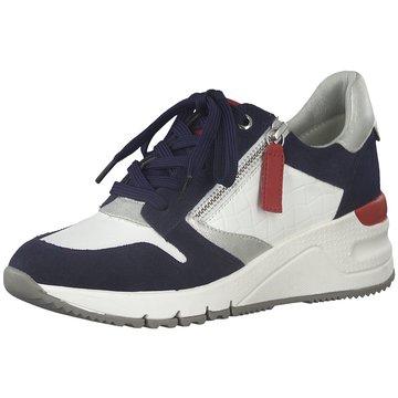 Tamaris Sneaker Wedges weiß
