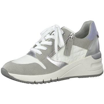 Tamaris Sneaker WedgesDa.-Schnürer grau