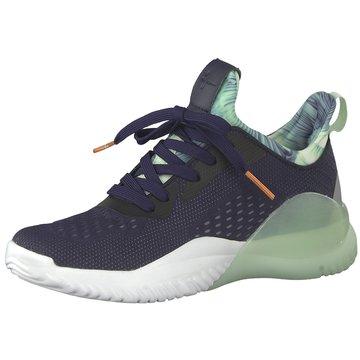 Tamaris Sportlicher SchnürschuhSneaker blau