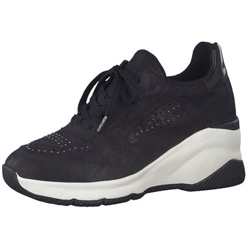 Tamaris Sneaker Wedges blau