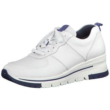 Tamaris Sportlicher SchnürschuhSneaker weiß
