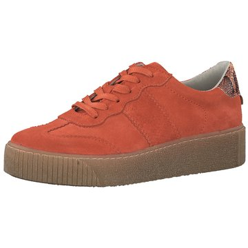 Tamaris Plateau Sneaker orange