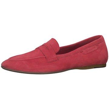 Tamaris Klassischer Slipper rot