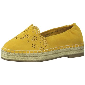 Tamaris Top Trends Slipper gelb