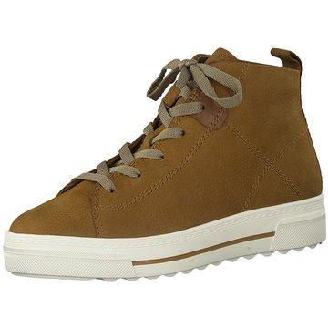 Tamaris Plateau Sneaker braun