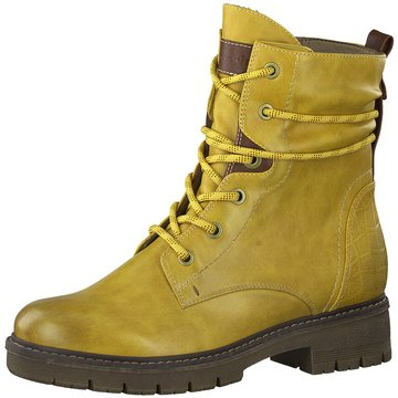 Tamaris Boots gelb