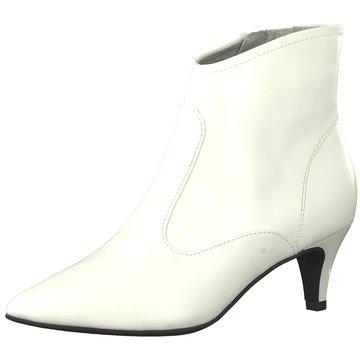Tamaris Klassische Stiefelette weiß