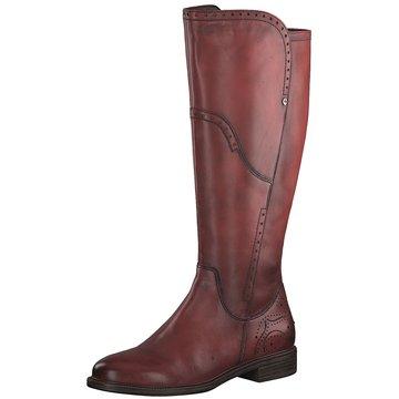 Tamaris Klassischer Stiefel rot