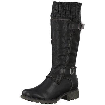 Tamaris Komfort Stiefel schwarz