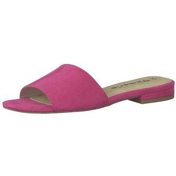 Tamaris Klassische Pantolette pink