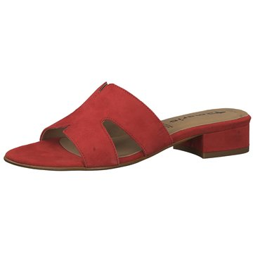 Tamaris Top Trends Pantoletten rot
