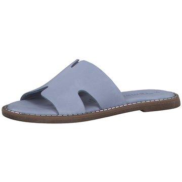 Tamaris Top Trends Pantoletten blau