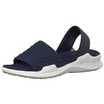 Tamaris Komfort Sandale blau