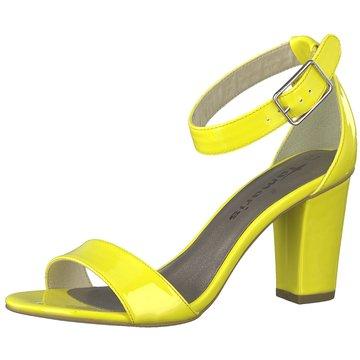 Tamaris Riemchensandalette gelb