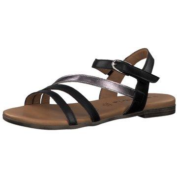 Tamaris Sandale schwarz