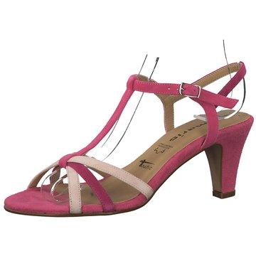 Tamaris Riemchensandalette pink