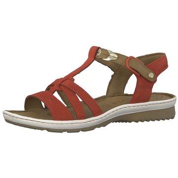 Tamaris Komfort Sandale rot
